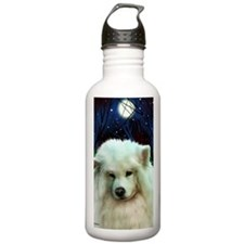 Samoyed print 2 Water Bottle