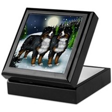 bernese mountinedogs copy Keepsake Box