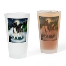 mountinedogBRAKITA Drinking Glass