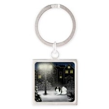 WC JC copy Square Keychain