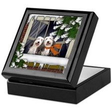 ww bcollie copy Keepsake Box