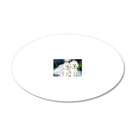 notecard BF 20x12 Oval Wall Decal