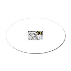WSNAUZER 20x12 Oval Wall Decal