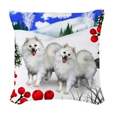 wb eskie Woven Throw Pillow