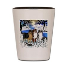 Australian Shepherd Dog Shot Glass