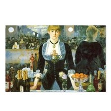 Bar at the Folies-Bergere Postcards (Package of 8)