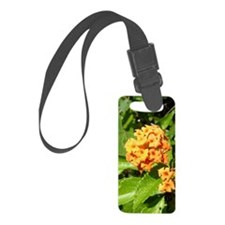 Lantana Orange Explosion Cluster Luggage Tag