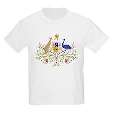 Aussie Coat of Arms Kids T-Shirt