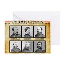 Cedar Creek - Union Greeting Card