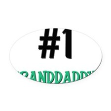 5-4-3-GRANDDADDY Oval Car Magnet