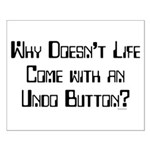 Undo Button Small Poster