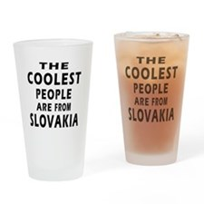 The Coolest Slovakia Designs Drinking Glass