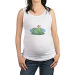 frogs in love copy.jpg Maternity Tank Top