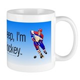 TOP I'm Dreaming of Hockey Small Mugs