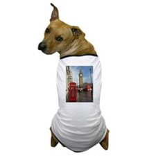 London phone box Dog T-Shirt