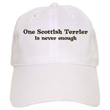 One Scottish Terrier Baseball Cap
