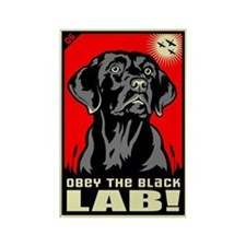 Obey the Black Lab! 06 Propaganda Magnet