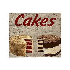 Cakes Throw Blanket