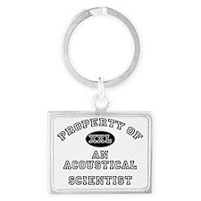 Acoustical-Scientist110 Landscape Keychain