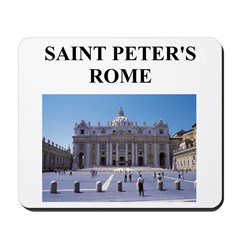 saint peter's rome gifts and Mousepad