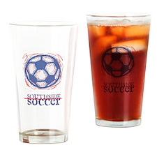 Southside Soccer Drinking Glass