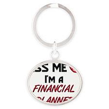FINANCIAL-PLANNER35 Oval Keychain
