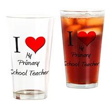 Primary-School-Teach8 Drinking Glass