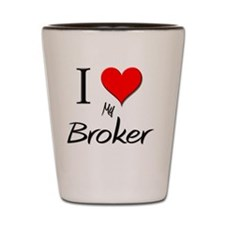 Broker6 Shot Glass