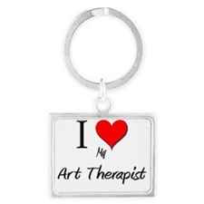 Art-Therapist70 Landscape Keychain