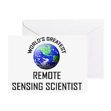 REMOTE-SENSING-SCIEN1 Greeting Card