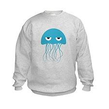 Light Blue Jellyfish Sweatshirt