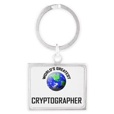 CRYPTOGRAPHER63 Landscape Keychain