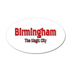 Birmingham, The Magic City 1 Wall Decal