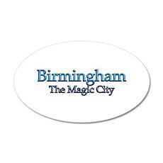 Birmingham, The Magic City 2 Wall Decal