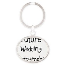 Wedding-Photographer103 Oval Keychain