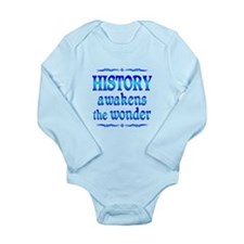 History Awakens Long Sleeve Infant Bodysuit