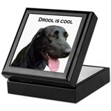 drool is cool Keepsake Box