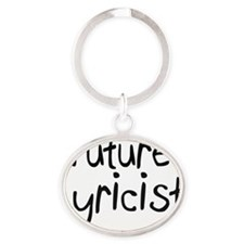 Lyricist109 Oval Keychain