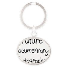 Documentary-Photogra81 Oval Keychain