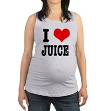 JUICE.png Maternity Tank Top
