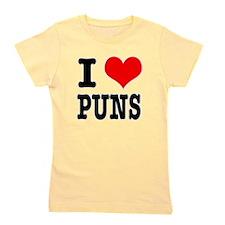 PUNS.png Girl's Tee