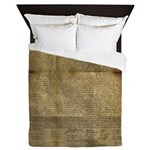 The Declaration of Independence Queen Duvet