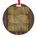 The Declaration of Independence Ornament
