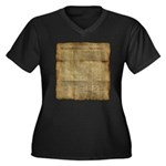 The Declaration of Independence Plus Size T-Shirt