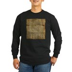 The Declaration of Independence Long Sleeve T-Shir
