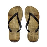 The Declaration of Independence Flip Flops