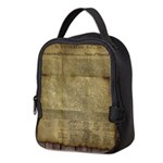 The Declaration of Independence Neoprene Lunch Bag
