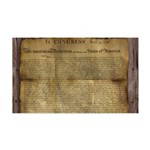 The Declaration of Independence Wall Decal