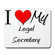 Legal-Secretary13 Mousepad