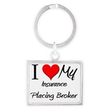 Insurance-Placing-Br65 Landscape Keychain